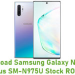 Samsung Galaxy Note 10 Plus SM-N975U Stock ROM