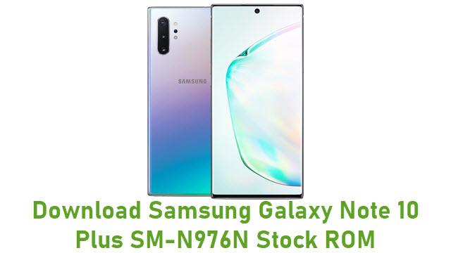 Download Samsung Galaxy Note 10 Plus SM-N976N Stock ROM