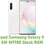 Download Samsung Galaxy Note 10 SM-N9700 Stock ROM