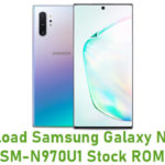 Samsung Galaxy Note 10 SM-N970U1 Stock ROM