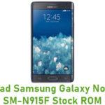 Samsung Galaxy Note Edge SM-N915F Stock ROM