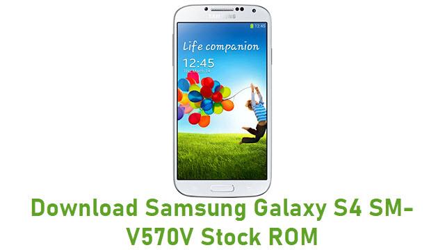 Download Samsung Galaxy S4 SM-V570V Stock ROM