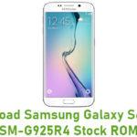 Samsung Galaxy S6 Edge SM-G925R4 Stock ROM
