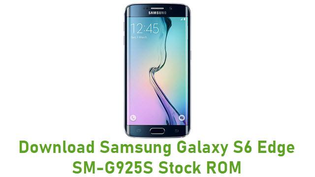 Download Samsung Galaxy S6 Edge SM-G925S Stock ROM