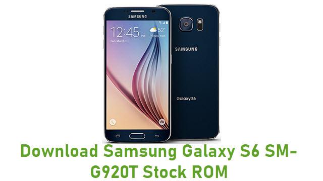 Download Samsung Galaxy S6 SM-G920T Stock ROM