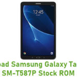 Samsung Galaxy Tab A 10.1 SM-T587P Stock ROM