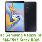 Samsung Galaxy Tab A 10.5 SM-T595 Stock ROM