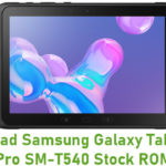 Samsung Galaxy Tab Active Pro SM-T540 Stock ROM