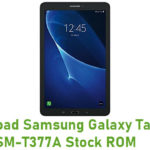 Samsung Galaxy Tab E 8.0 SM-T377A Stock ROM