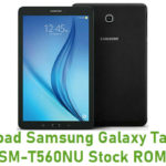 Download Samsung Galaxy Tab E 9.6 SM-T560NU Stock ROM