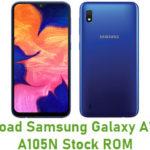 Samsung Galaxy A10 SM-A105N Stock ROM
