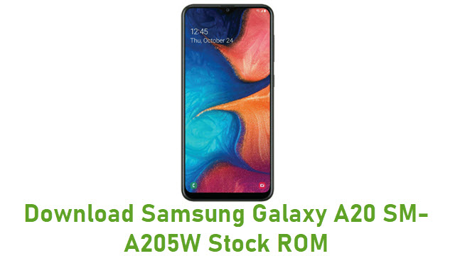 Download Samsung Galaxy A20 SM-A205W Stock ROM