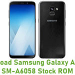 Samsung Galaxy A6 Plus SM-A6058 Stock ROM