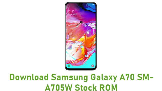 Download Samsung Galaxy A70 SM-A705W Stock ROM