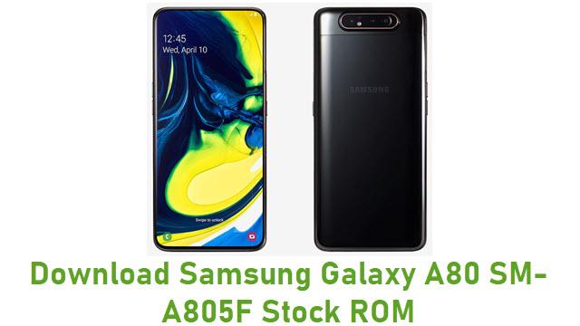 Download Samsung Galaxy A80 SM-A805F Stock ROM