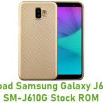 Download Samsung Galaxy J6 Prime SM-J610G Stock ROM