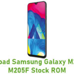 Download Samsung Galaxy M20 SM-M205F Stock ROM