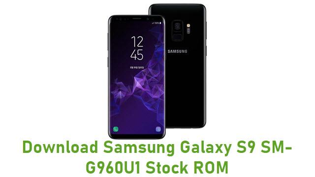 Download Samsung Galaxy S9 SM-G960U1 Stock ROM