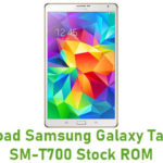 Download Samsung Galaxy Tab S 8.4 SM-T700 Stock ROM
