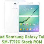 Samsung Galaxy Tab S2 8.0 SM-T719C Stock ROM