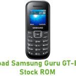 Samsung Guru GT-E1200M Stock ROM