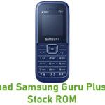 Samsung Guru Plus B105E Stock ROM