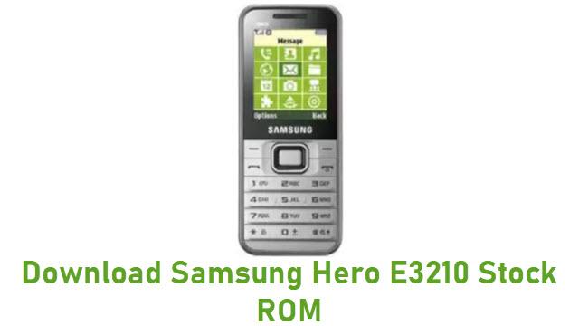 Download Samsung Hero E3210 Stock ROM