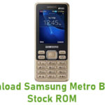 Samsung Metro B350E Stock ROM