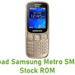 Samsung Metro SM-B313E Stock ROM