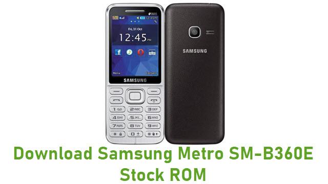 Download Samsung Metro SM-B360E Stock ROM