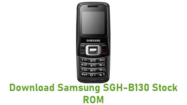 Download Samsung SGH-B130 Stock ROM