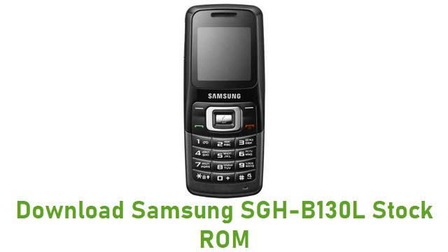 Download Samsung SGH-B130L Stock ROM