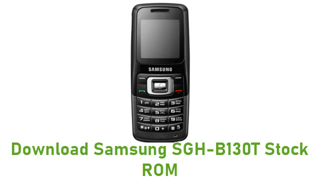 Download Samsung SGH-B130T Stock ROM