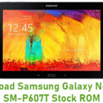Download Samsung Galaxy Note 10.1 SM-P607T Stock ROM