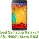 Samsung Galaxy Note 3 SM-N900U Stock ROM