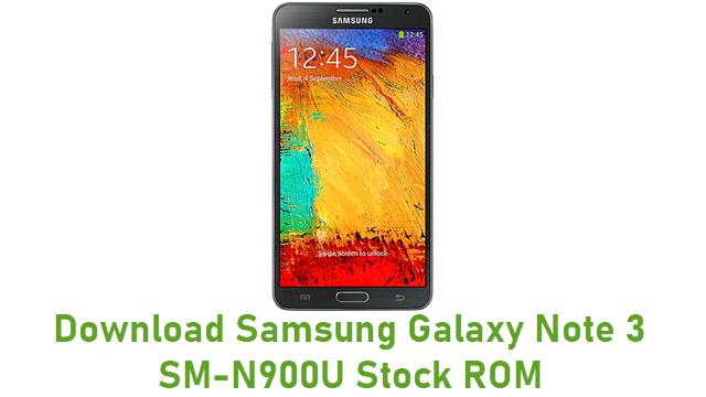 Download Samsung Galaxy Note 3 SM-N900U Stock ROM