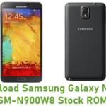 Samsung Galaxy Note 3 SM-N900W8 Stock ROM
