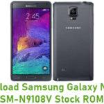 Samsung Galaxy Note 4 SM-N9108V Stock ROM