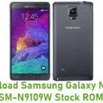 Samsung Galaxy Note 4 SM-N9109W Stock ROM