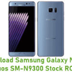 Samsung Galaxy Note 7 Duos SM-N9300 Stock ROM