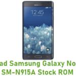 Samsung Galaxy Note Edge SM-N915A Stock ROM