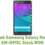 Samsung Galaxy Note Edge SM-N915L Stock ROM