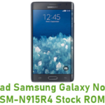 Samsung Galaxy Note Edge SM-N915R4 Stock ROM