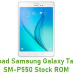 Samsung Galaxy Tab A 9.7 SM-P550 Stock ROM