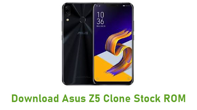 Download Asus Z5 Clone Stock ROM