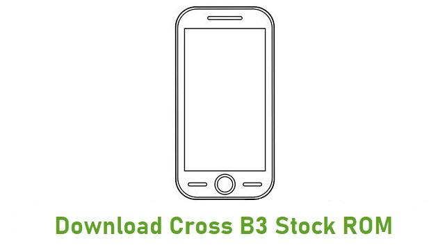 Download Cross B3 Stock ROM
