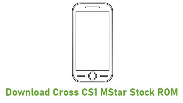 Download Cross CS1 Mstar Stock ROM