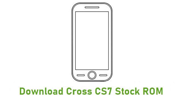 Download Cross CS7 Stock ROM
