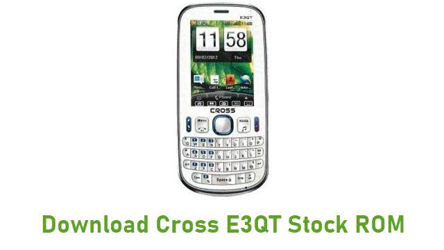 Download Cross E3QT Stock ROM