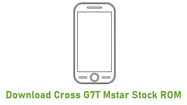 Download Cross G7T Mstar Stock ROM